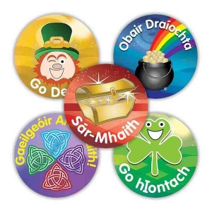 Shamrock Variety Stickers